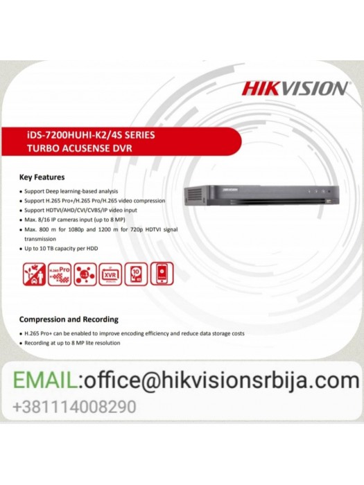 iDS-7208HUHI-K2/4S